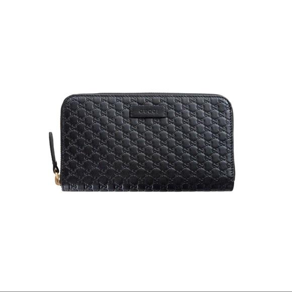 c24f95b07004 Gucci Bags | Microsima Zip Around Wallet | Poshmark